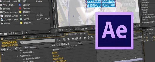 Formation Habillage de texte avec After Effects